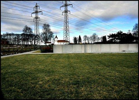 TIL VÅREN: Den nye minnelunden på Hafslund åpner i løpet av våren 2018.