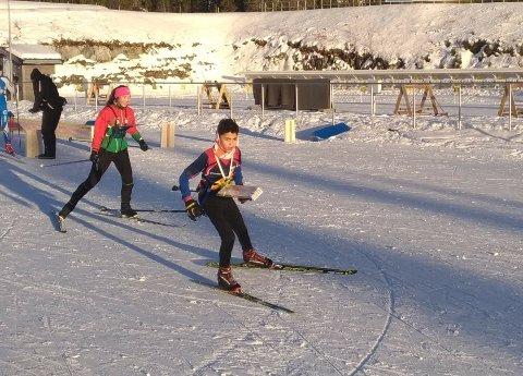 SEIER: Henrik Julian Fontes Aarbu leverte to god løp i helgen.
