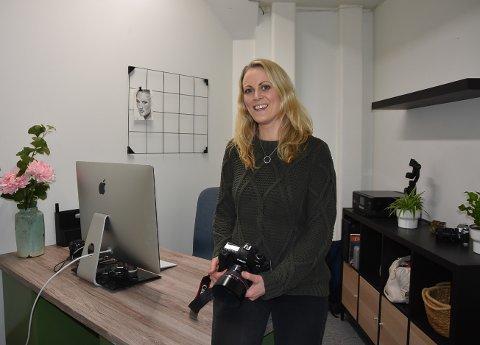 KLAR TIL INNSATS: Monica Snopestad har jobbet seg tilbake til arbeidslivet etter sykdom, og nå starter hun mediebyrå på Mysen.