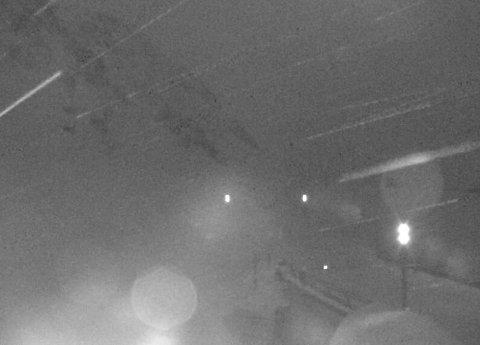 STENGD: Slik ser det ut ved bommen ved Hola på Vikafjellet klokka 06.04 i dag, torsdag.
