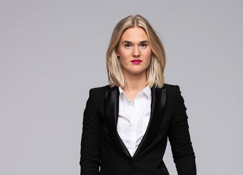 Agent: Under innspilling følte Miriam Moholdt Håkonsen (28) seg som en ekte agent, selv om hun viste at det ikke var på ekte.