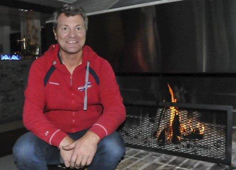 SJEFEN: Bjørn Halvor Roalstad satser både alpin- og hotelldrift.