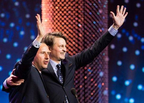 Hedersprisen under årets Gullruten-utdeling gikk til Thomas Numme og Harald J. Rønneberg.