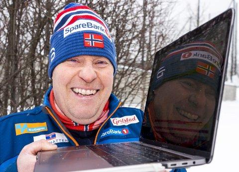Viktig rolle: Bjørnar Sandvig er ansvarlig for logistikk i Norges Skiforbund.  Foto: Terje Pedersen, NTB