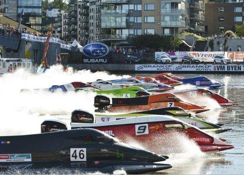 SYNERGIER: President Per Velde i Norges motorsportforbund vil kartlegge hvor mye penger som ble lagt igjen i byen som følge av Tønsberg båtrace.