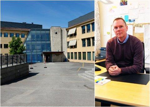 PRESISERING: Rektor ved Presterød skole, Rune Olsen, opplevde at foreldre ønsket en oppklaring på kohortreglene under dagens ordning med hjemmeundervisning.