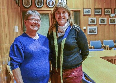Gunn Olsen og Carolina Moland var de to fremste kandidatene på Vegårshei Høyres liste i år. Nå er det klart at Gunn Olsen blir varaordfører. Arkivfoto.