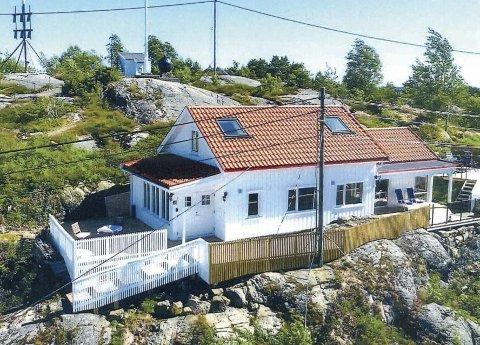 Lyngør: Denne helårsboligen ble bygget i 2016. Hvis den nye verneplanen som nå ligger ute til høring blir vedtatt, blir den trolig en av de aller siste boligene som vil bli bygget i Lyngør.
