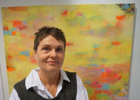 SER FRAMOVER: Liv Rygh gleder seg til å utvikle seg videre som kunstner, i nytt miljø på hjemtraktene i Trøndelag.