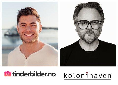 NOE FOR ENHVER? Henrik Holt og CF-Wesenberg er blant Oslofotografene som tilbyr bilder skreddersydd for onlinedating.
