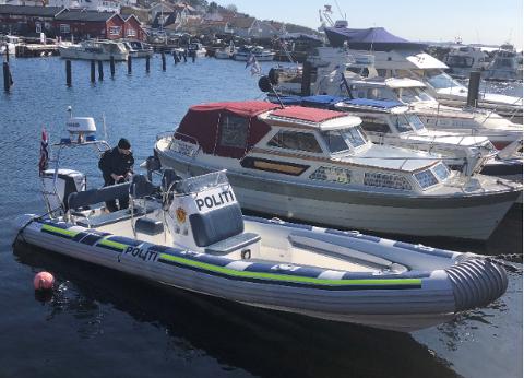 Politibåten til Øst politidistrikt i Follo har vært på sjøen i dag. Flere ble tatt i kontrollen som pågikk mellom klokken 16 og 22.