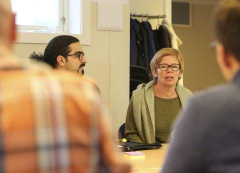 Kunnskap: Leder for Flyktningtjenesten i Gjerstad kommune, Elfi Jonassen, bidro med sin erfaringer.