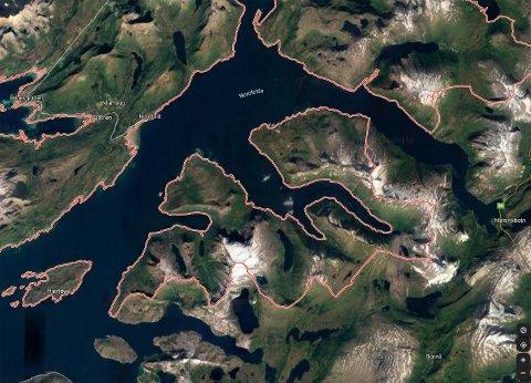 Mulen: Lokaliteten Mulen ligger i Nordfoldfjorden i Steigen. Ingen hadde innvendinger til søknaden fra Cermaq Norway.