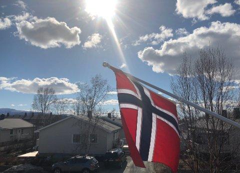 Solskinn: Nasjonaldagen kunne feires i fint  vær i store deler av Nordland, men slik har det ikke vært så ofte i år.