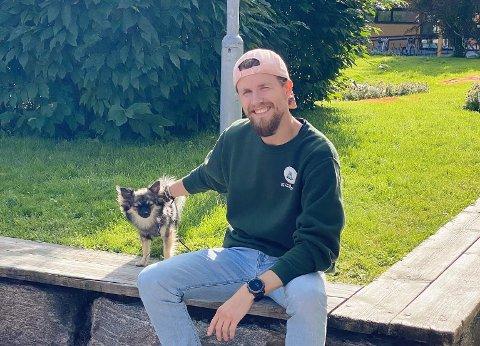 Fadderleder Fredrik Sanne er klar for fadderuken i Bodø..