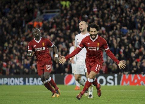Liverpool og Mohamed Salah har hatt et godt tak på Arsenal.