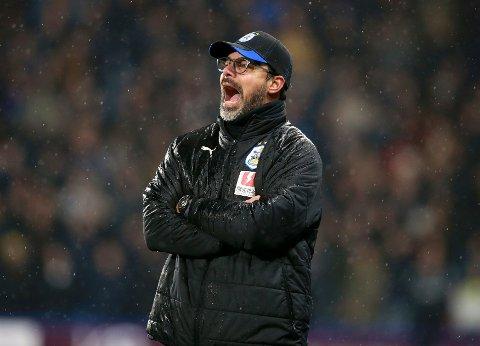 Huddersfield Town og manager David Wagner hater å spille mot lag fra Wales, iallfall om vi skal tro resultatene. (Mike Egerton/PA via AP)