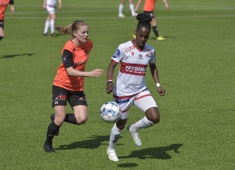 Kennya Cordner scoret kampens første mål da Sandviken vant 3–1 over Åsane i en treningskamp i går.