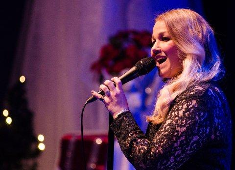 IMPONERTE: Maria Haukaas Mottet sang i Modum Kulturhus lørdag.