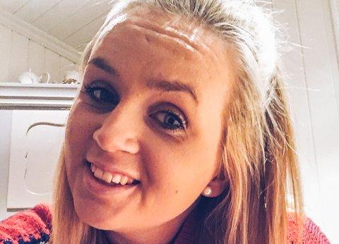 NY PÅ SP-LISTA: Stine Norman (22) stiller til valg i Sigdal til høsten, og hun har fått 18. plassen på valgliste til Sp.