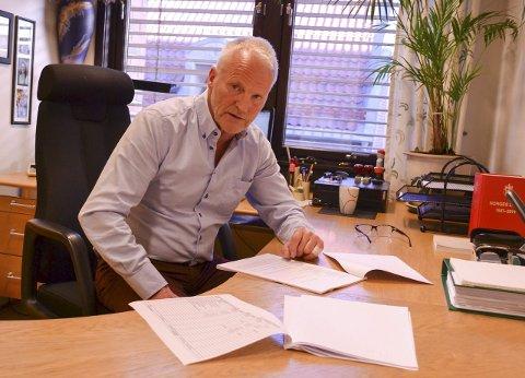 KONKURS: Øistein Rivrud er bobestyrer for konkrusen i Correct Services AS, og må nå si opp 123 ansatte.