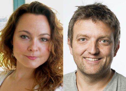 HAR IKKE GITT OPP: Rebekka Borsch og Anders Wengen vil kjempe videre for Buskerudbypakke 2.