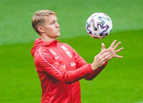 Martin Ødegaard er ikke aktuell for Real Madrid i mesterligaen denne uka.