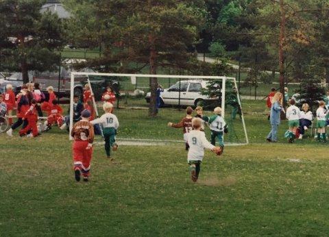 Fotballgutta KIL 86