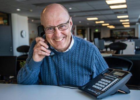 Nå har Tom-Steinar Nilsen tatt den siste samtalen «På Tråden». 65-åringen blir pensjonist.