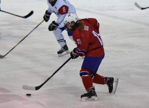Thea Kuraas og Norge vant åpningskamp i B-VM.