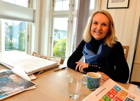 STØTTE UNGDOMMEN: Initiativtaker og talskvinne i Foreldreløftet, Veslemøy Klavenes-Berge, håper at foreningen blir en viktig stemme i klimadebatten.
