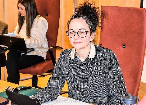 OPPRØRT: Jennifer McConachie og MDG er misfornøyde med at lokallagets høringsuttalelse ikke er vurdert i Skoppum-saken.