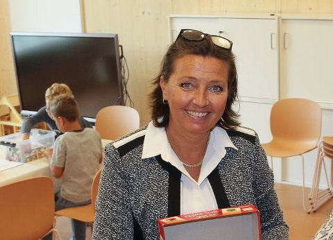 SLUTTER: Linda Kristin Eek Stranden forlater stillingen som Glommasvingen-rektor.