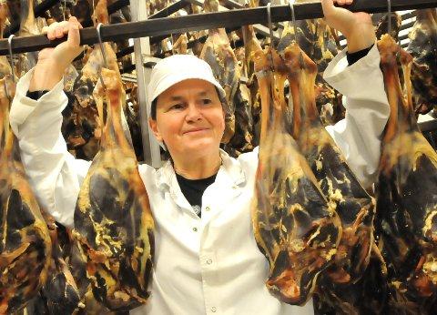 BETYR MYE: - En stjerne i boka for bedriften på Bjorli, sier produksjonsleder Heidi Holen.