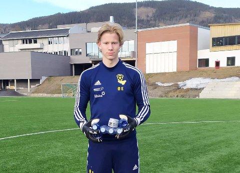 Faabergs juniormålvakt, Øystein Engeli, løp 190 kilometer i løpet av 14 dager under Faaberg Challenge.