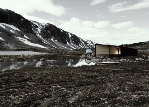 – En krevende utfordring, mener arkitekten bak det store hytteprosjektet.