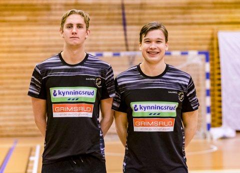 PÅ VEI TILBAKE: Kristian Stranden og Thomas Solstad er endelig på vei tilbake på banen for HTH.