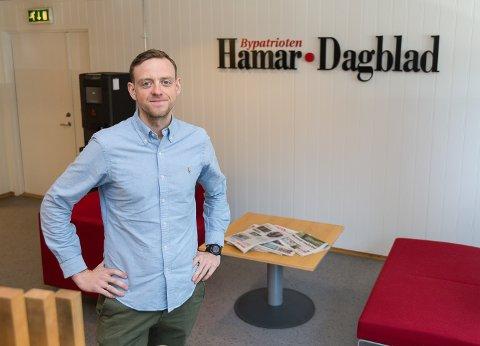MÅ SPARE: Daglig leder i AS Østlendingen, Truls Sylvarnes, fjerner tre av Hamar Dagblads papirutgivelser før sommerferien.