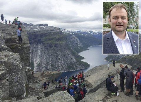 Roald Aga Haug (innfelt) meiner Ullensvang kommune bør utrope seg sjølv til Norges friluftshovudstad.
