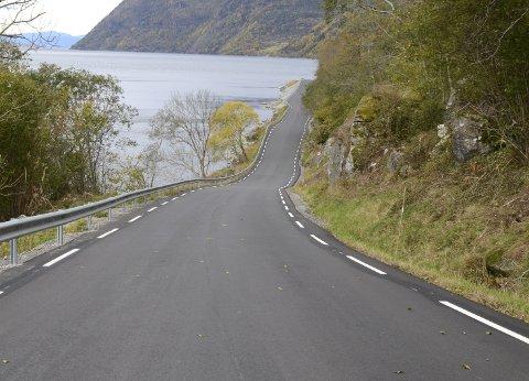 Fylkesveg 107: Fylkeskommunen har gitt signal om at arbeidet med reguleringsplan for ny veg mellom Nordrepollen og Austrepollen kan starte alt i år. Arkivfoto: Eli Lund