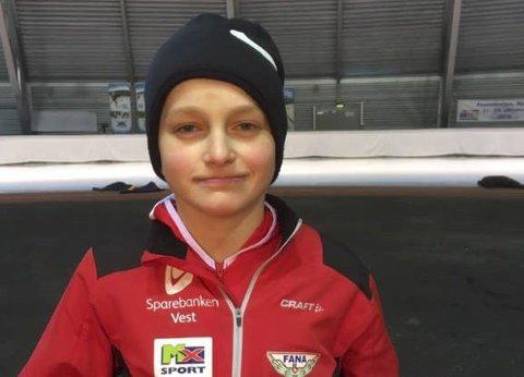 Til Nederland: Heine Buer Åsebø er tatt ut til skøytestemnet Viking Race i Nederland. Foto: Privat