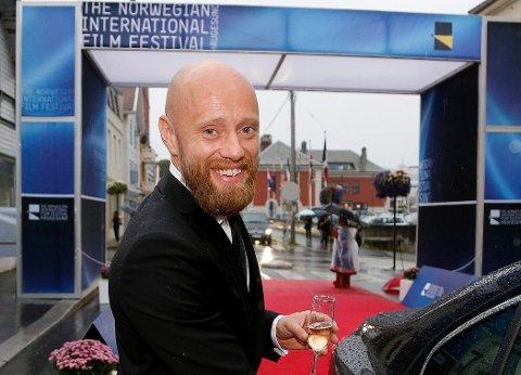 KOMMER IKKE: Aksel Hennie deltar ikke på lørdagens walk of fame-avduking. Arkivfoto.