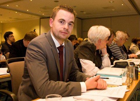 Leder i Nordland Frp, Allan Ellingsen (Frp), slår fast at fylkespartiet kun har vedtatt støtte til Kjærstad, ikke til Hauan-prosjektet. Foto: Tove Kaspersen