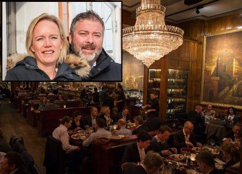 Satser: Ellen og Sverre Løvold Strand satser på restaurantdrift i Oslo.