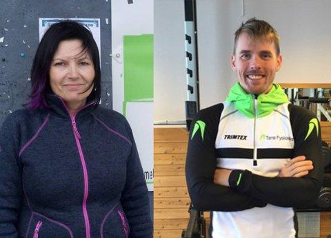 KAN MISTE JOBBEN: Siv Malén Murberg, daglig leder ved Tana Frivilligsentral, og Ole Henrik Somby, daglig leder på frisklivssentralen.