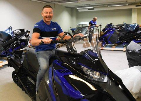 SELGER: Espen Haddel er ny selger for Yamaha på Alta Motor.