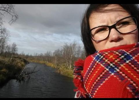 - FINT Å KOMME TILBAKE: Sini Länsman er glad for at hun igjen kan komme tilbake til lærerjobben sin i Tana.