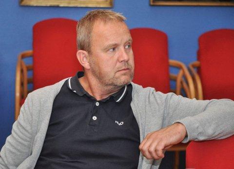 Kommunestyrerepresentant Grunde W. Knudsen.