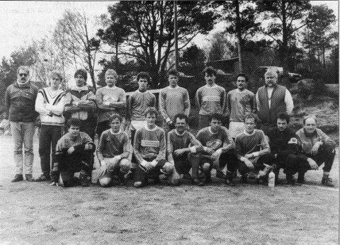 Nokre av desse gamle stjernene frå a-laget til Uskedalen i 1991 blir å sjå igjen på fotballbana 1. mai.
