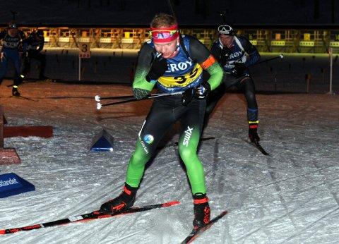 TOPP TRE: Martin Femsteinevik varta opp med ein flott prestasjon då han blei nummer tre på sprinten i norgescuprennet i Folldal. (Foto: Arne Brunes).